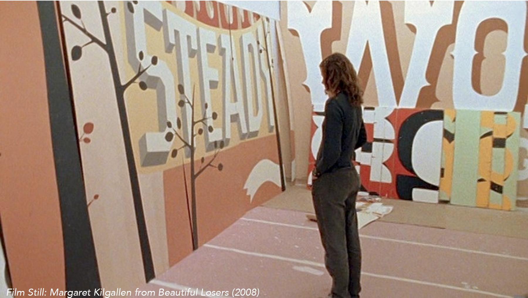 Film Still: Margaret Kilgallen from Beautiful Losers (2008)