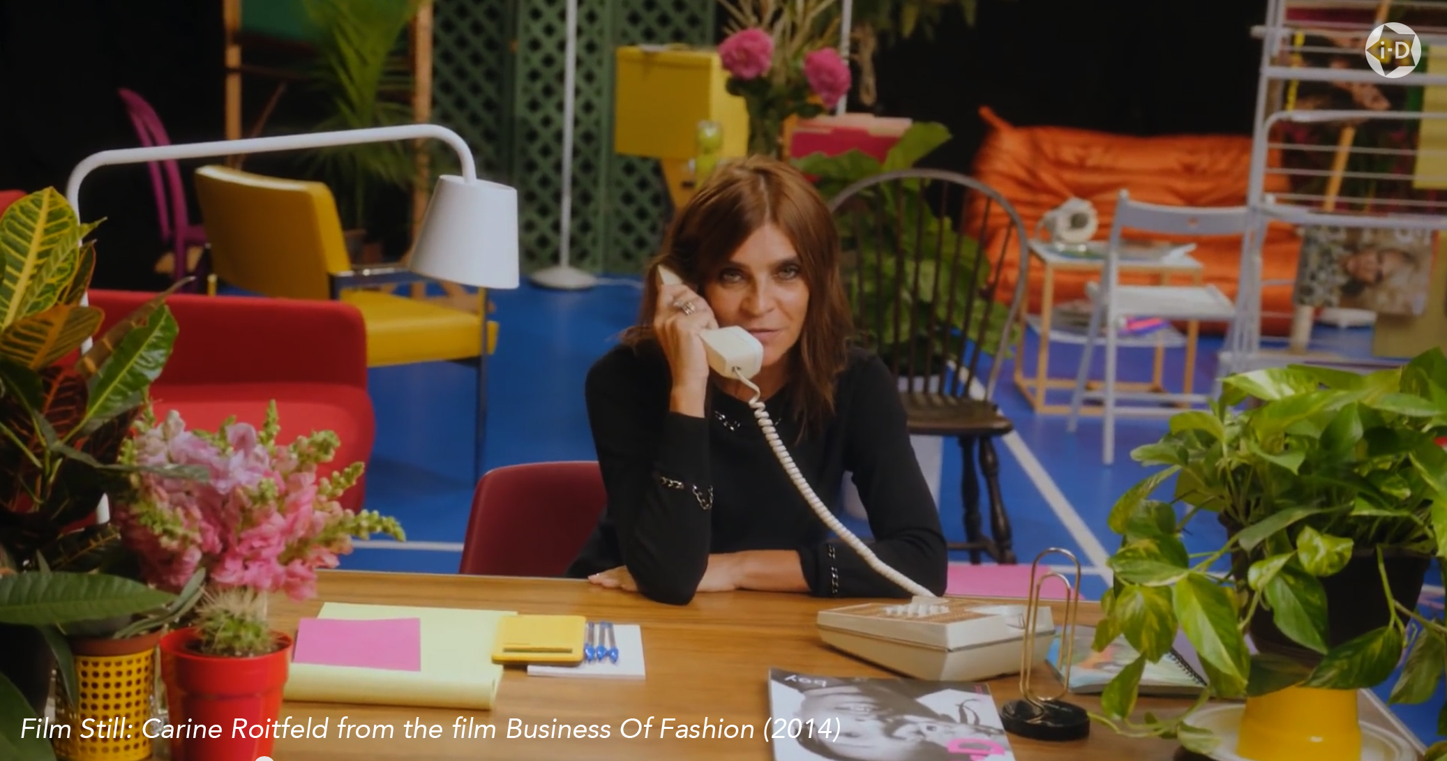 Film Still: Carine Roitfeld from the film Business Of Fashion (2014)