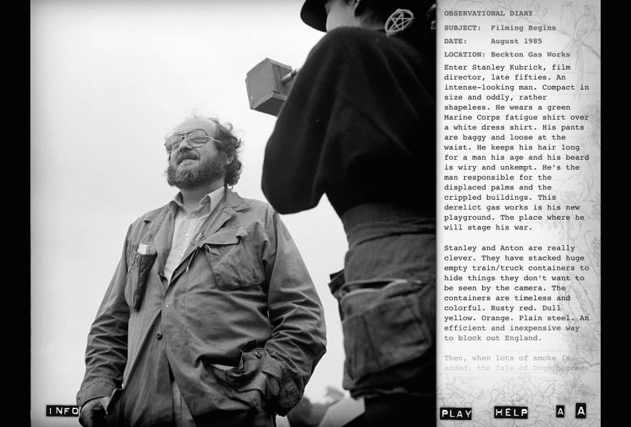 Full Metal Jacket Diary Stanley Kubrick