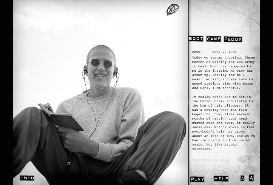 Full Metal Jacket Diary Matthew Modine