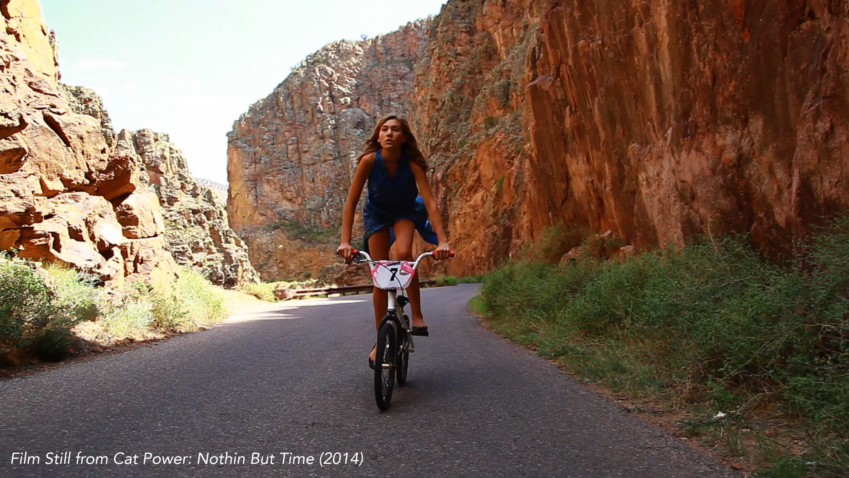 Film Still from Cat Power: Nothin But Time (2014)