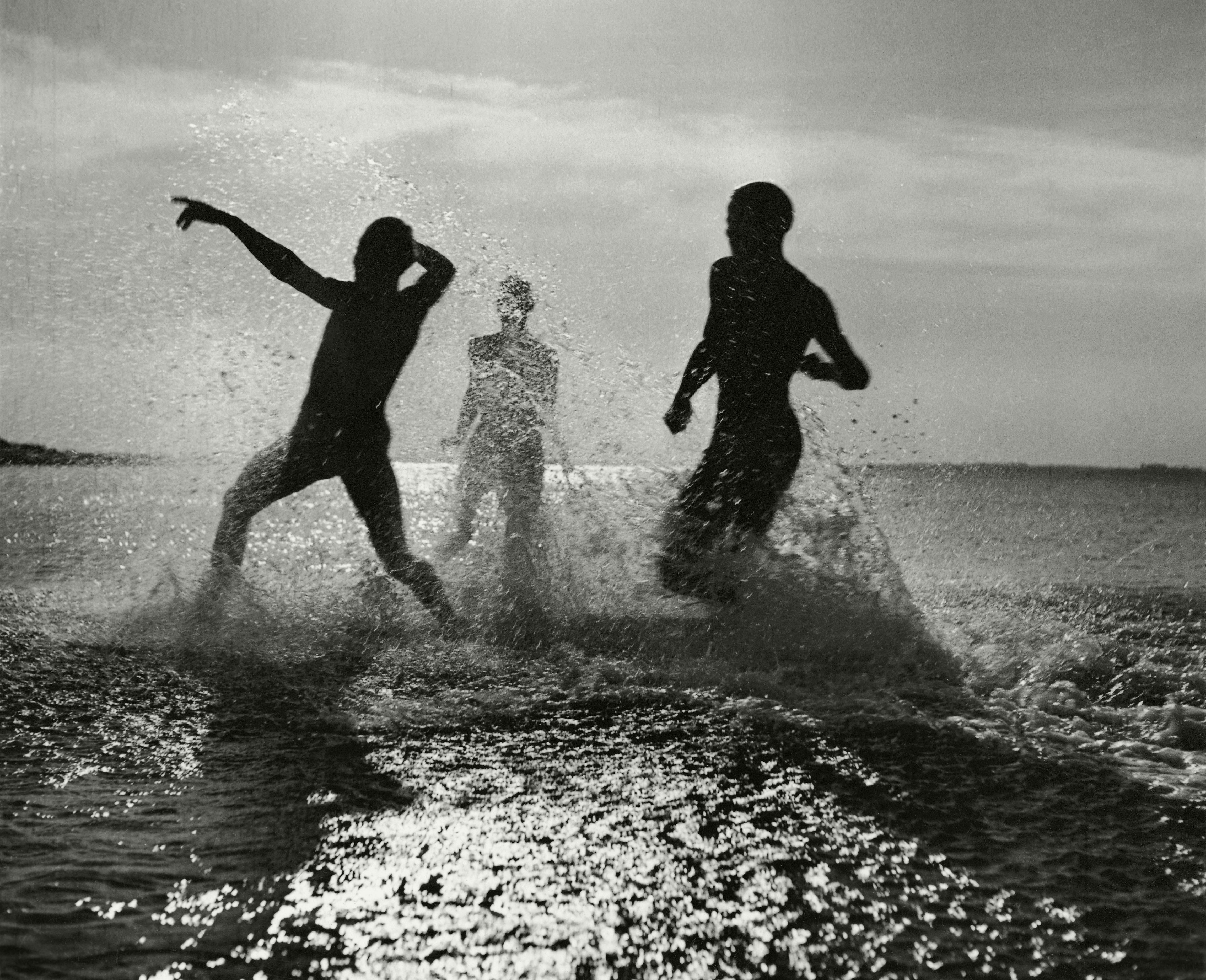 Water games at North Sea by Herbert List 1934