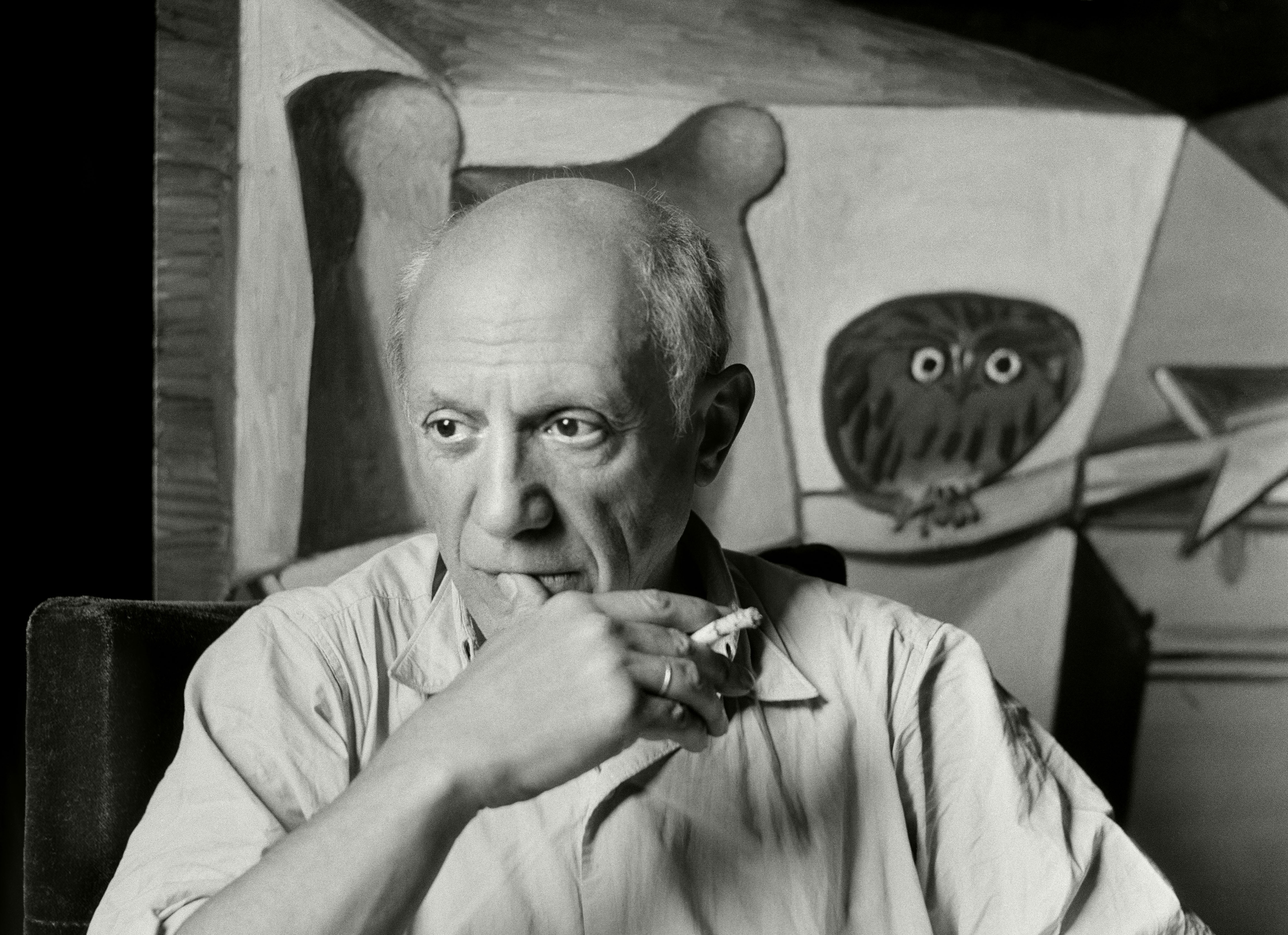 Pablo Picasso by Herbert List for Michael Michalsky Zefyr Life magazine interview
